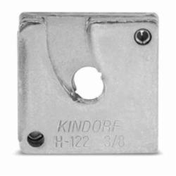 for Use with Kindorf Channel and Spot-Type Concrete Insert 5//16 in THK Steel 3//8-16 Thread Kindorf B-914-3//8 B-914 Channel Square Nut