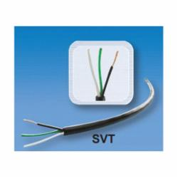U.S. Wire & Cable SVT 18/3-BLACK
